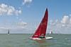 "Bembridge Redwing ""Prawn II"" Sail No. 103 racing at AAM Cowes Week 2014"