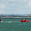 Redwing RED GAUNTLET II  at loose mast at Lendy Cowes Week 2017