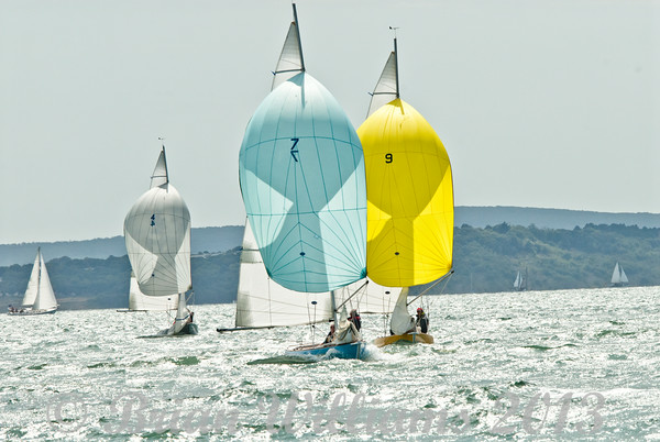 Seaview mermaids racing on day 8 Cowes week 2013