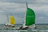 Seaview mermaids taking part in racing on day 8 Cowes week 2013