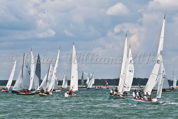 """X one design X9 """"Zest""""  racing at AAM Cowes Week 2014"""