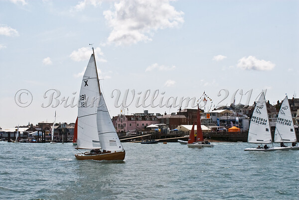 """X one design X191 """"Judy"""" racing at AAM Cowes Week 2014"""