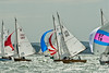 XOD one design x140, x182 taking part in racing on day 8 Cowes week 2013