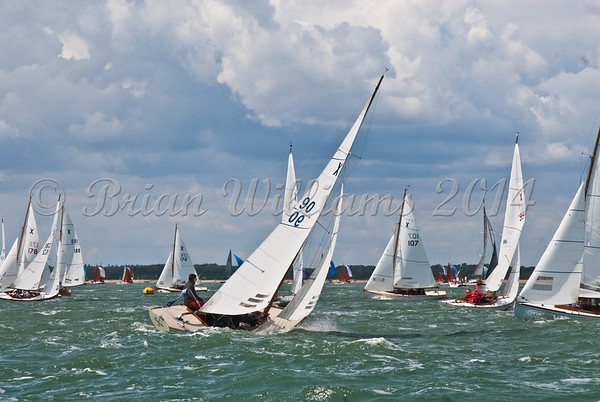 """X one design X90 """"Calypso"""" racing at AAM Cowes Week 2014"""