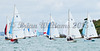 Cowes Week 2015, Day 8, X One Designs aproaching  finish.