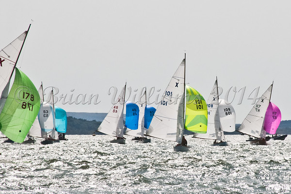 """X One Design racing X101 """"Thora"""" at AAM Cowes Week 2014"""