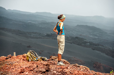 Ecuador - Galapagos Inseln, erkaltete Lava soweit das Auge reicht