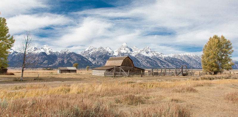 Barn with Grand Teton