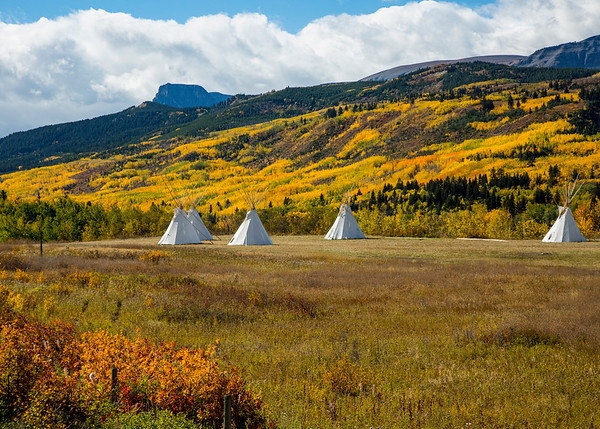 Fall on the Blackfeet reservation