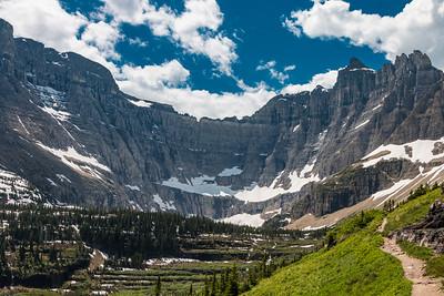 Glacier park  Trail
