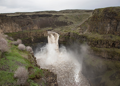 Palouse Falls at full flow