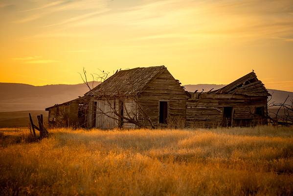 Old house at Sunrise