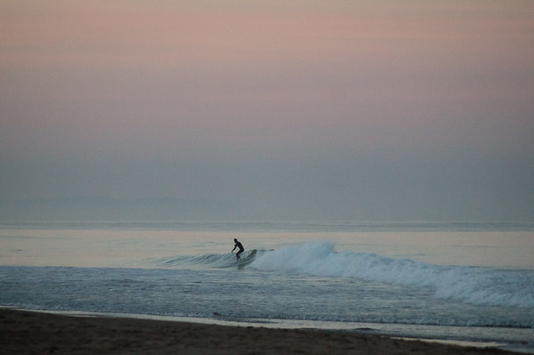 Empty waves at first light
