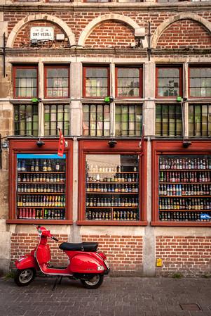 Belgian Store Front, Ghent, Belgium