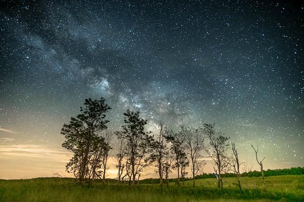 dark skies over big meadows