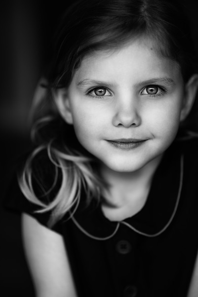 Black and White portrait