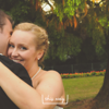 Natural wedding couple under tree, Murrayshall Hotel, Perth