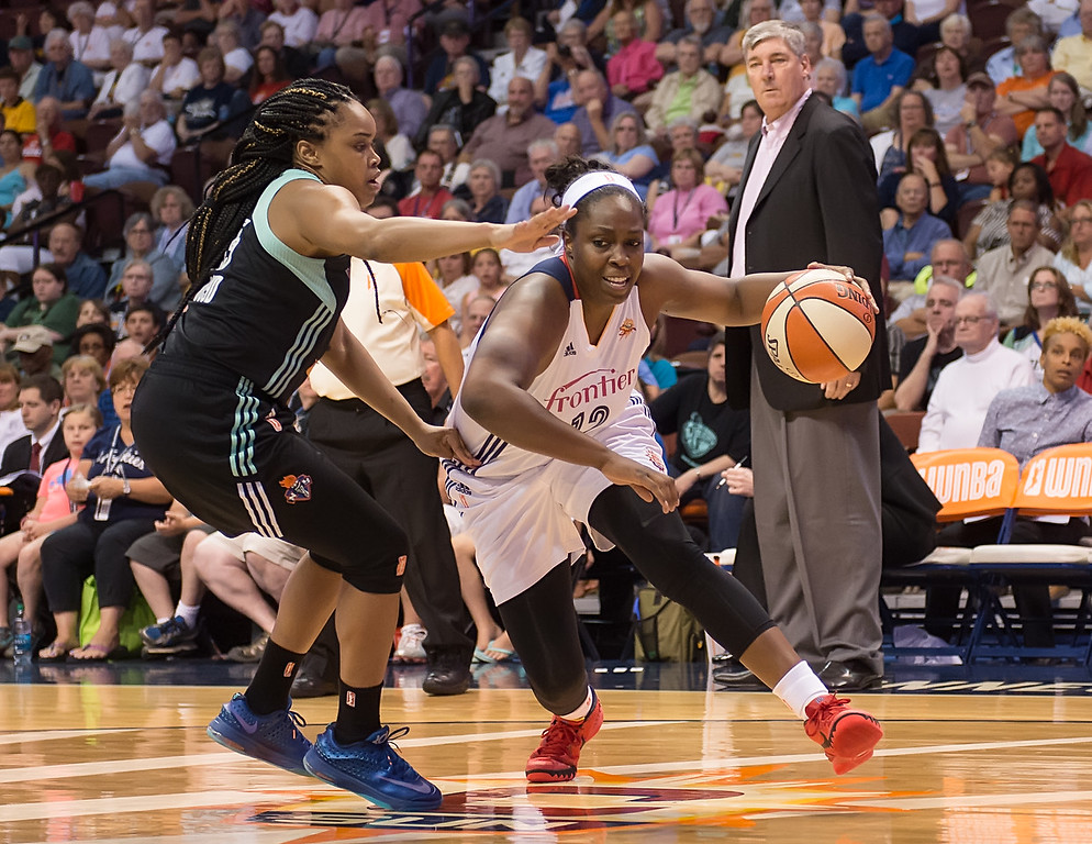 New York Liberty vs. Connecticut Sun August 12, 2015