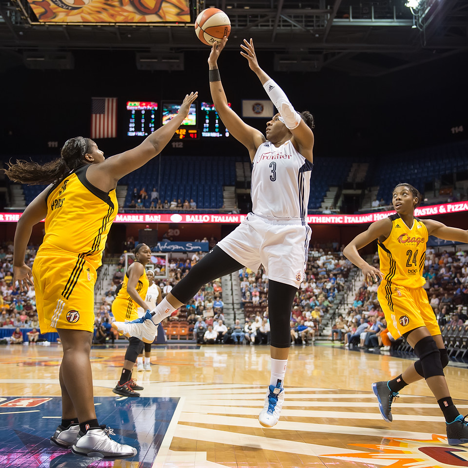 Tulsa Shock vs. Connecticut Sun August 12, 2015