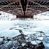 under the michigan avenue bridge