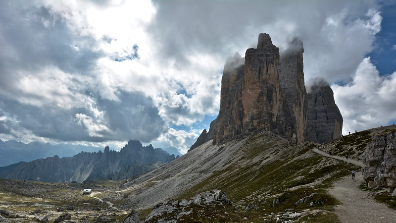 Tre Cime di Lavaredo - Dolomites (Drei Zinnen)