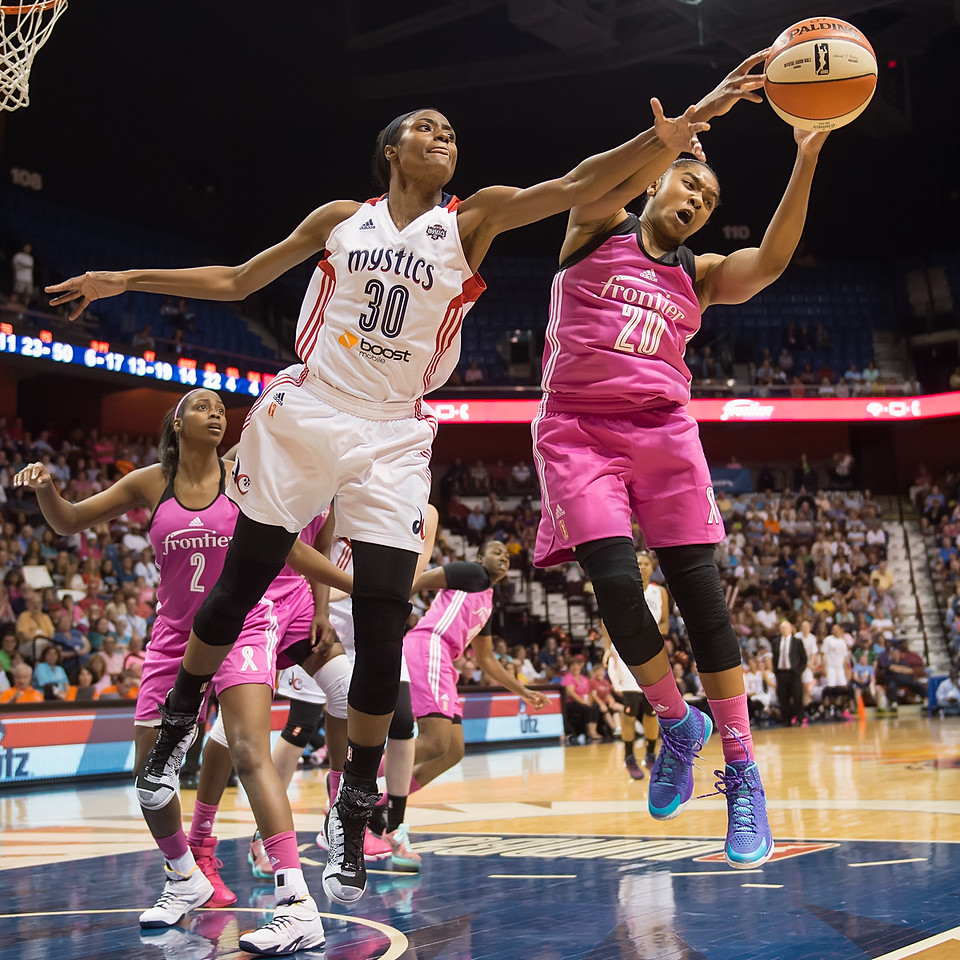 Washington Mystics vs. Connecticut Sun August 7, 2015