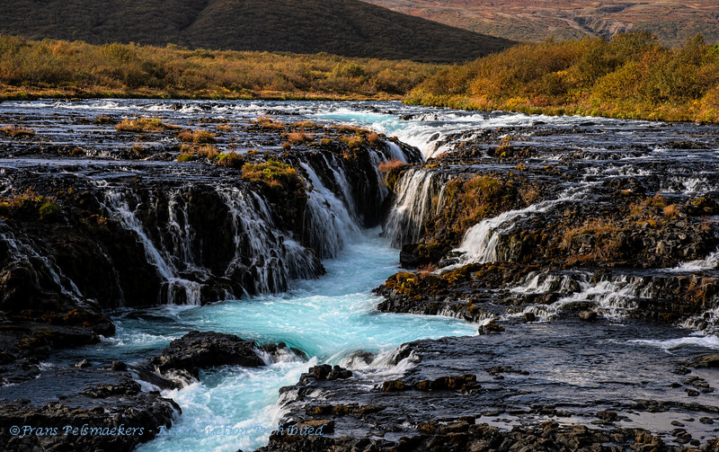IJsland; Iceland; Bruarfoss; 2019