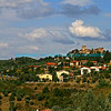 Hilltop Town in Tuscany