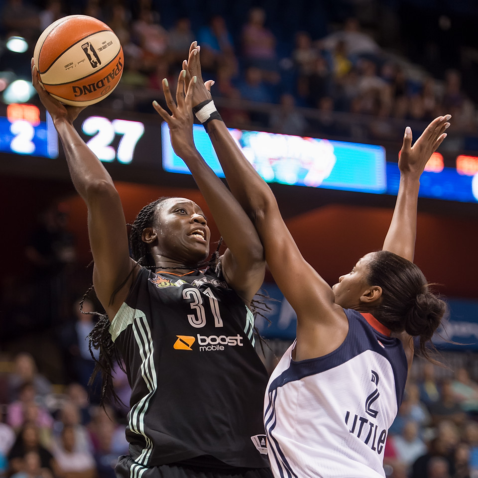 New York Liberty vs. Connecticut Sun August 29, 2015