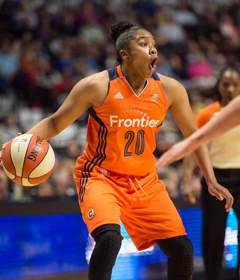 Washington Mystics vs Connecticut Sun May 21, 2016