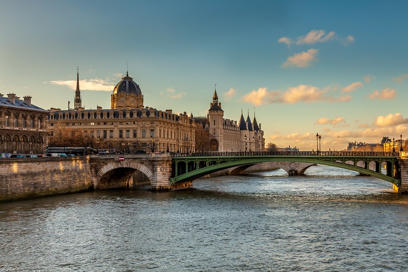 La Seine in Paris