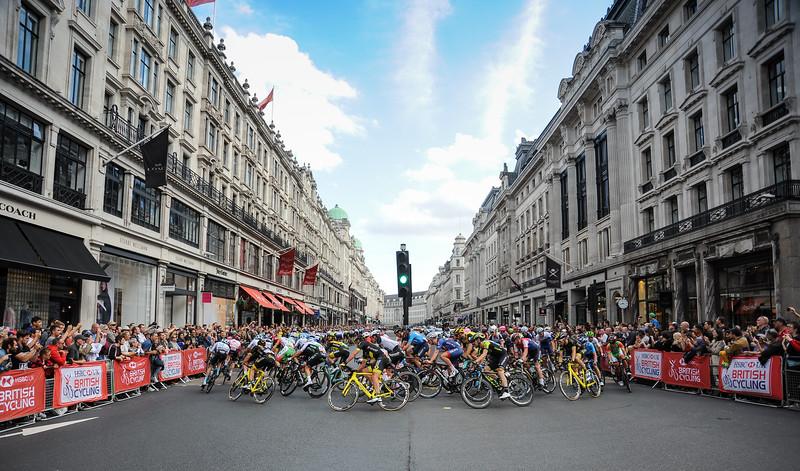 OVO Energy Tour of Britain, Stage 8. London, ENGLAND, UK.