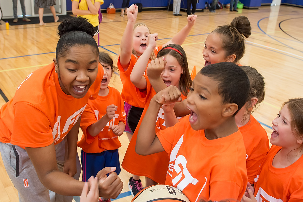 WNBA All Star Fit Clinic July 24, 2015