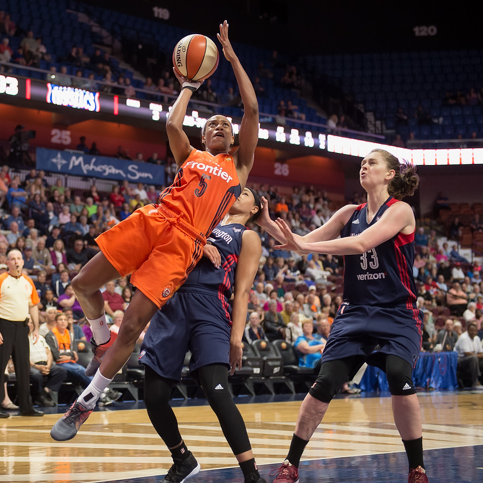 Washington Mystics vs Connecticut Sun June 14, 2016