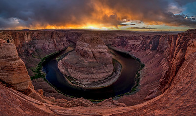 HorseshoeBendSunsetPano raw final