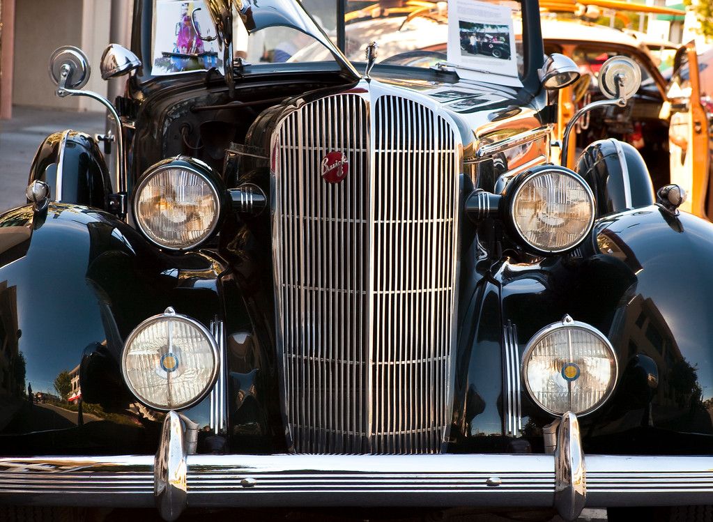 1936 Buick Century Convertible detail