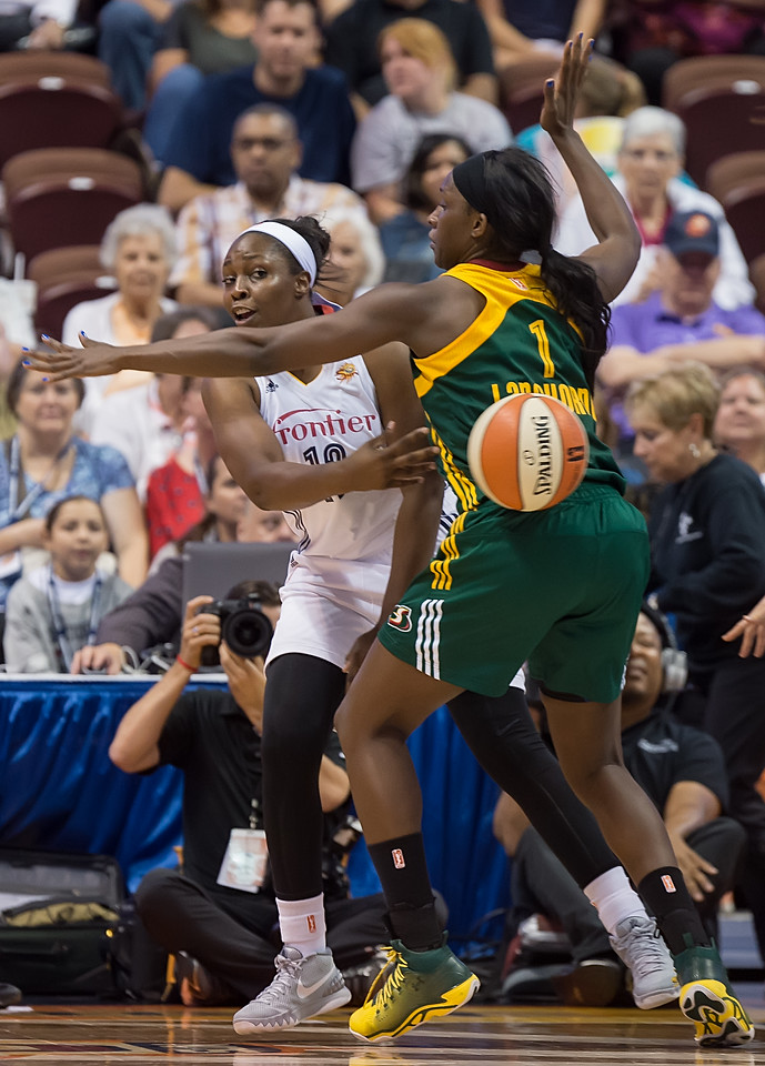 Seattle Storm vs. Connecticut Sun July 31, 2015