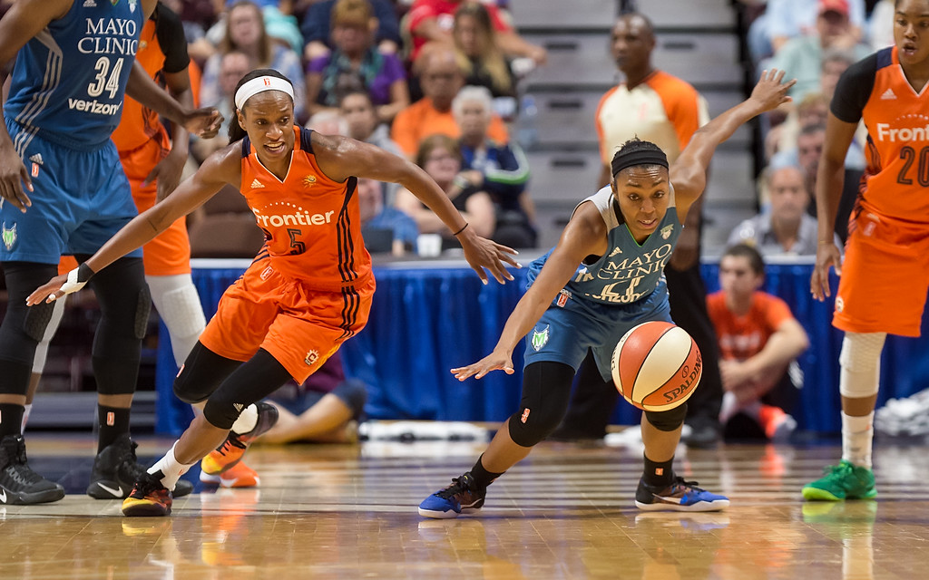Minnesota Lynx vs Connecticut Sun August 26, 2016