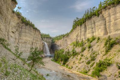 La chute Vauréal et son canyon