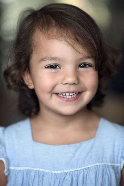 natural light child portrait