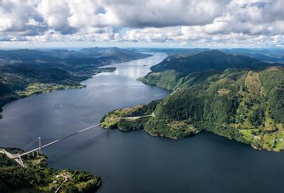 Helicoptering Over Sørfjorden