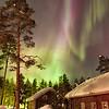 Solar Storm Over Rovaniemi
