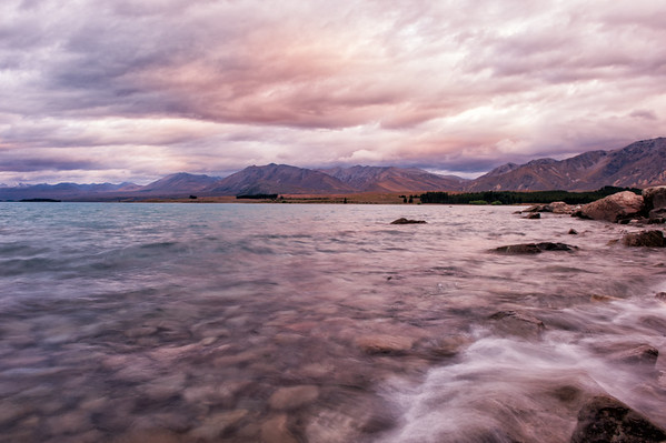 Tekapo in Pink and Blue