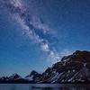 Bow Lake's Dramatic Summer Skies
