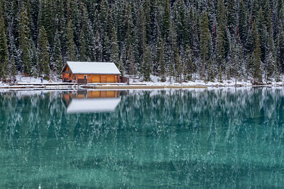 Lake Louise Christmas Card