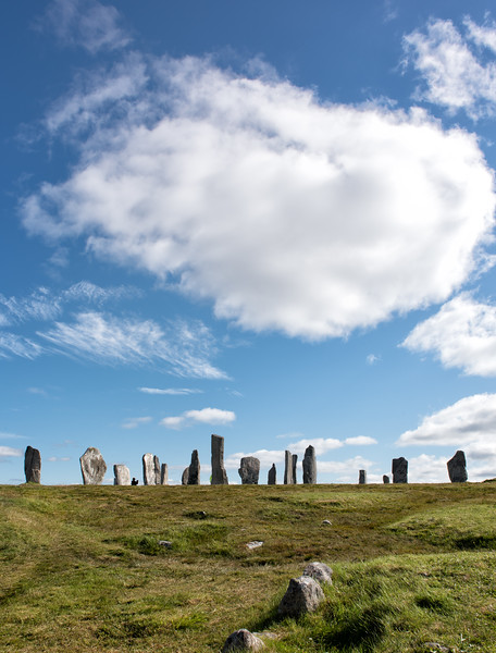 Clouds Over Callanish