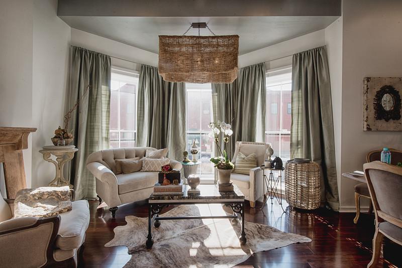 Interior view, Simply Beautiful Events design space, Rochester, NY.  Photo by Brandon Vick Weddings LLC http://www.brandonvickweddings.com/