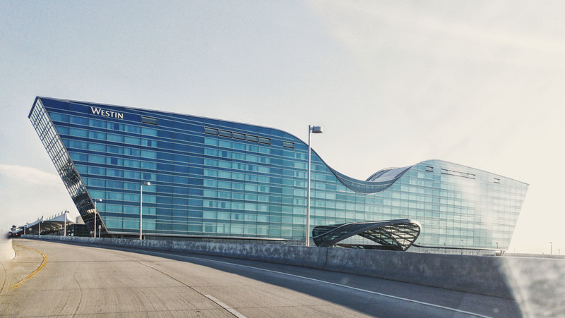 The Westin Denver International Airport, Denver, Colorado. Photo by Brandon Vick, https://www.brandonvickphoto.com/
