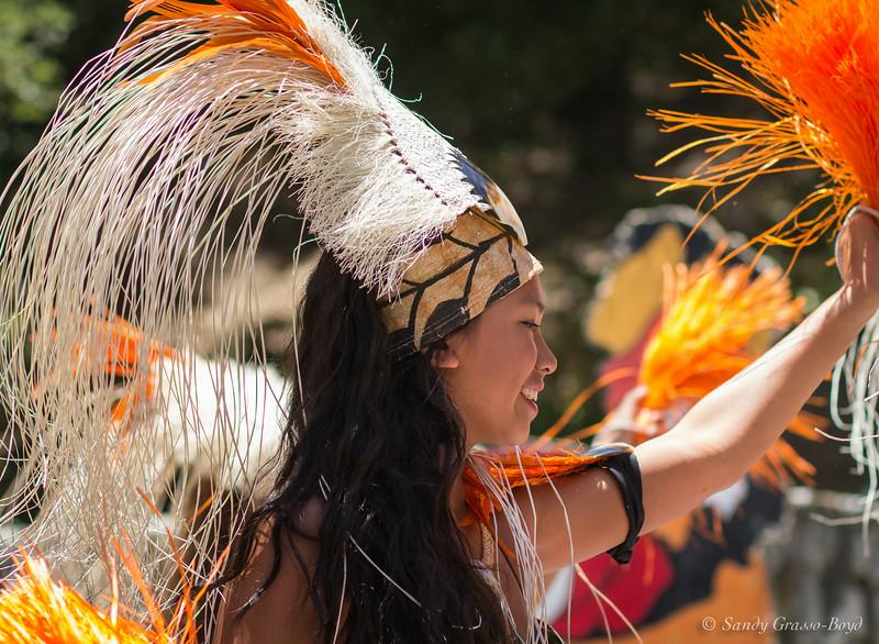 French Festival, Polynesian Dancer