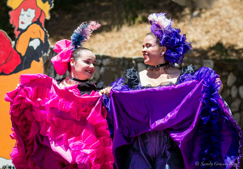 French Festival Dancers